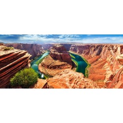 Pussel Panorama 600 bitars, Horseshoe Bend, Glen Canyon, Arizona