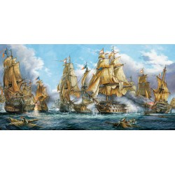 Pussel 4000 bitars, Naval Battle