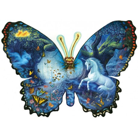 SunsOut Ruth Sanderson - Fantasy Butterfly - Puzzle 1,000 pieces