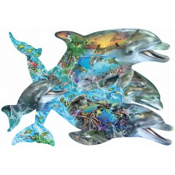 SunsOut Lori Schory - Song of the Dolphins - Puzzle 1,000 pieces